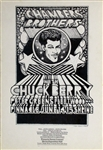 The Chambers Brothers And Chuck Berry And Fleetwood Mac Original Concert Handbill
