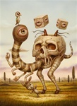 Naoto Hattori Lost and Found Original Painting
