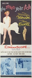 The Seven Year Itch Original US Insert