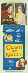 Clash By Night Original US Insert