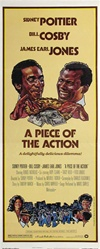 A Piece Of The Action Original US Insert