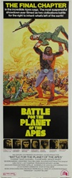 Battle For The Planet Of The Apes Original US Insert
