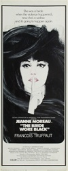 The Bride Wore Black Original US Insert