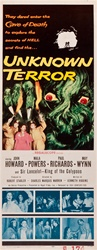Unknown Terror Original US Insert