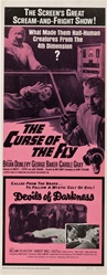 The Curse Of The Fly And Devils Of Darkness Original US Insert