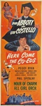 Here Come The Co-Eds Original US Insert