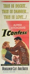 I Confess Original US Insert