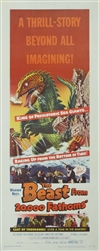The Beast From 20,000 Fathoms Original US Insert