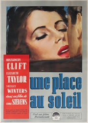 A Place In The Sun Italian 4 Sheet