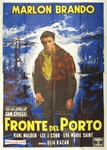 On The Waterfront Italian 4 Sheet