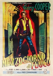 High Noon Italian 4 Sheet
