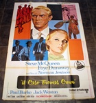 Thomas Crown Affair Original Italian 4 sheet
