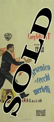 Arsenic And Old Lace Original Italian Locandina