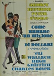 How To Steal A Million Italian 2 Sheet