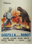 Godzilla vs. Mechagodzilla Original Italian 4 sheet
