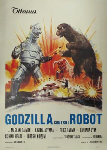 Godzilla vs. Mechagodzilla Original Italian 4 sheet ...