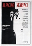 Scarface Original Italian 4 sheet