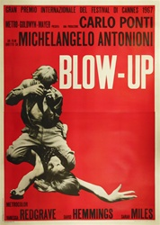 Blow Up Original Italian 4 sheet