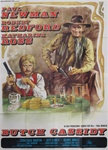 Butch Cassidy And The Sundance Kid Original Italian 4 sheet