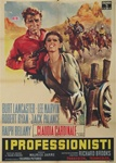 The Professionals Original Italian 2 Sheet