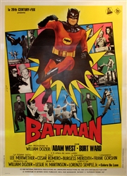 Batman Italian 4 Sheet