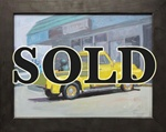 Eric Joyner Old Ford Truck Original Painting