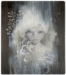 Audrey Kawasaki She Who Dares Original Painting