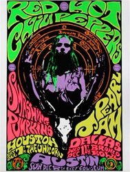 Frank Kozik Red Hot Chili Peppers Original Concert Poster