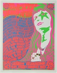 Twenty Years After With Iron Butterfly And Ted Nugent Original Concert Poster
