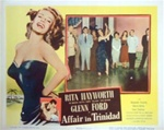 Affair in Trinidad Original US Lobby Card