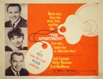 The Apartment Original US Lobby Card