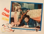 Babe Comes Home Original US Lobby Card