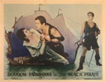 The Black Pirate Original US Lobby Card