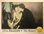 Fine Manners Original US Lobby Card