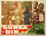 Gunga Din Original US Lobby Card
