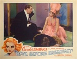 Love Before Breakfast Original US Lobby Card