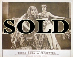 Cleopatra Original US Lobby Card