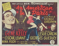 An American In Paris Original US Lobby Card Set of 8