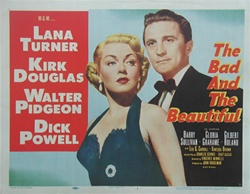 Bad And The Beautiful Original US Lobby Card