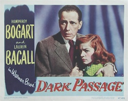 Dark Passage Original US Lobby Card