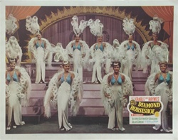 Diamond Horseshoe Original US Lobby Card
