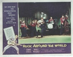Rock Around the World Original US Lobby Card Set of 8