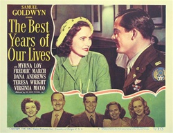 The Best Years of Our Lives Original US Lobby Card