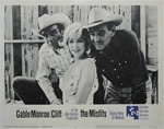 The Misfits Original US Lobby Card Set of 8
