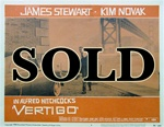 Vertigo Original US Lobby Card