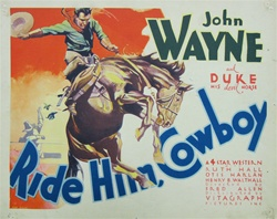 Ride Him, Cowboy Original US Lobby Card