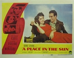 A Place In The Sun Original US Lobby Card