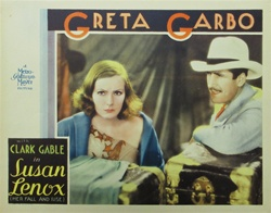 Susan Lenox Her Rise and Fall Original US Lobby Card