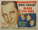 Man On Fire Original US Title Lobby Card