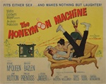 The Honeymoon Machine Original US Title Lobby Card